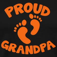 proud grandpa with cute little feet T-Shirts