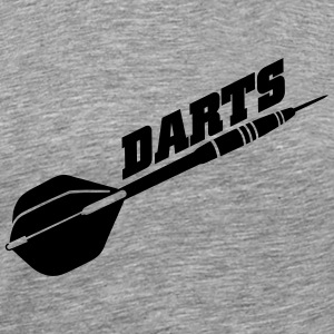 darts T-Shirts - Men's Premium T-Shirt