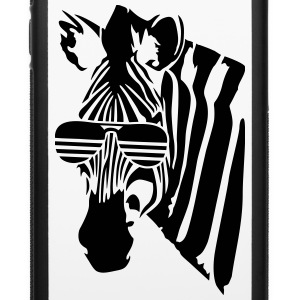 Zebra with glasses Accessories - iPhone 6/6s Rubber Case