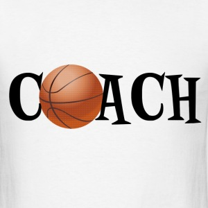 Basketball Coach T-Shirts - Men's T-Shirt