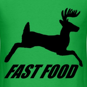 Whitetail Fast Food - Men's T-Shirt