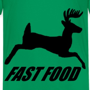 Whitetail Fast Food - Toddler Premium T-Shirt