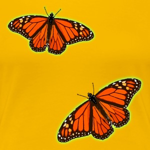 Monarch Butterflies T-Shirt. - Women's Premium T-Shirt