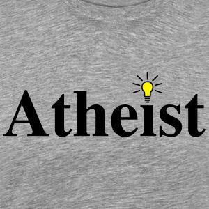 Atheist Lightbulb - Shirt - Men's Premium T-Shirt