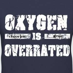 Oxygen is overrated Women's T-Shirts - Women's V-Neck T-Shirt