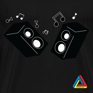 The Random Apparel - Bass Drop - Men's Premium T-Shirt