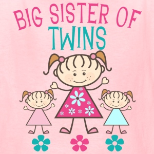 Big Sister of Twins - Kids' T-Shirt