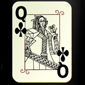 Queen of Clubs - Full Color Mug
