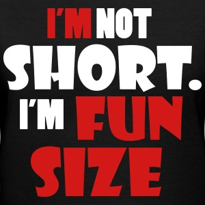 I'm not short - I'm fun size Women's T-Shirts - Women's V-Neck T-Shirt