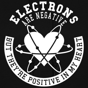 Electrons Are Negative - Women's Hoodie
