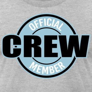 Official Crew Memeber T-Shirts - Men's T-Shirt by American Apparel