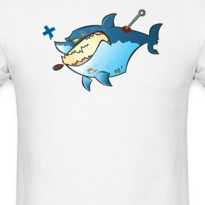 A Pool of Sharks (front) T-Shirts - Men's T-Shirt