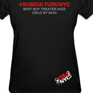 Design ~ SUBCULTURE MEET TEE