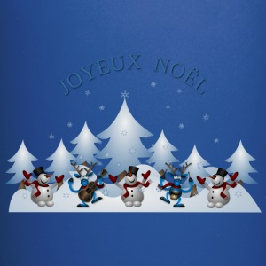 Joyeux Noel Card Front - Full Color Mug
