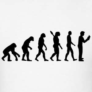 Evolution reading T-Shirts - Men's T-Shirt