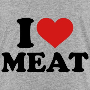 I love Meat Kids' Shirts - Kids' Premium T-Shirt