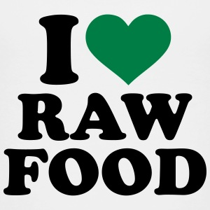 I love raw food Kids' Shirts - Kids' Premium T-Shirt