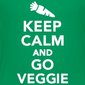 Keep calm and go Veggie Kids' Shirts - Kids' Premium T-Shirt
