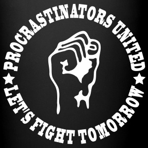 procrastinators united Mugs & Drinkware - Full Color Mug