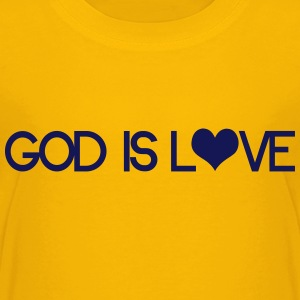 God is love Kids' Shirts - Kids' Premium T-Shirt