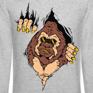 GORILLA CAME OUT FROM MEN SWEATSHIRT - Crewneck Sweatshirt