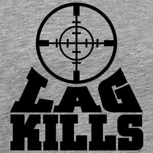 lag kills T-Shirts - Men's Premium T-Shirt