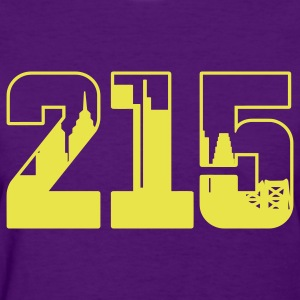 215: The Skyline - Women's T-Shirt