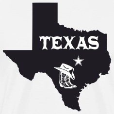 Texas Lone Star Boots T-Shirt