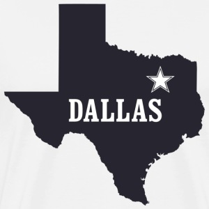 Dallas Texas Lone Star T-Shirt - Men's Premium T-Shirt