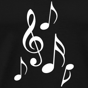 Musical Notes - Men's Premium T-Shirt