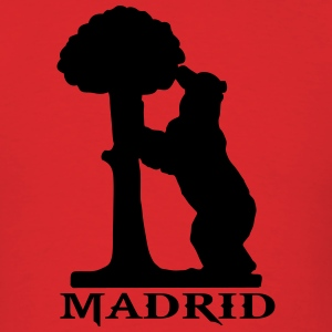 madrid bear T-Shirts - Men's T-Shirt