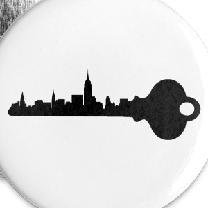 Key to the City - Large Buttons
