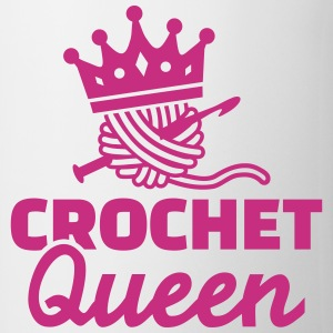 Crochet Queen Mugs & Drinkware - Coffee/Tea Mug