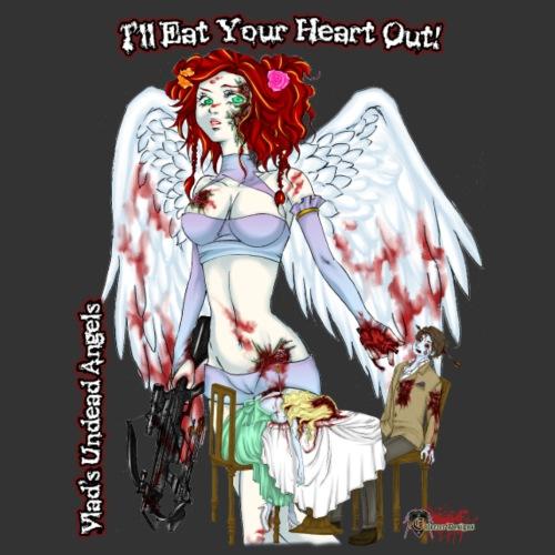 Zombie Cupid Closeup