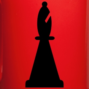 black bishop chess piece - Full Color Mug