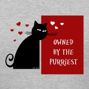Owned by The Purriest - Women's V-Neck T-Shirt