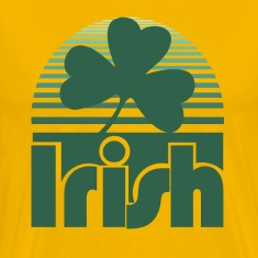 Retro Irish Shamrock