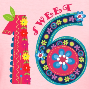 Blooming Sweet 16 Women's T-Shirts - Women's T-Shirt