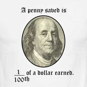A Penny Saved - Men's Ringer T-Shirt