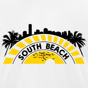 southbeach - Men's T-Shirt by American Apparel