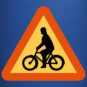 Bicycles Roadsign - Full Color Mug