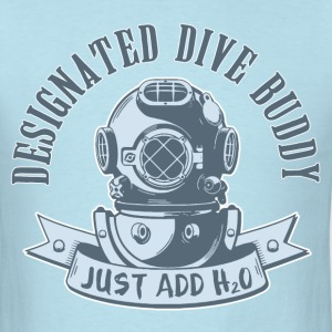 Designated Dive Buddy - Scuba Diving T-Shirts - Men's T-Shirt