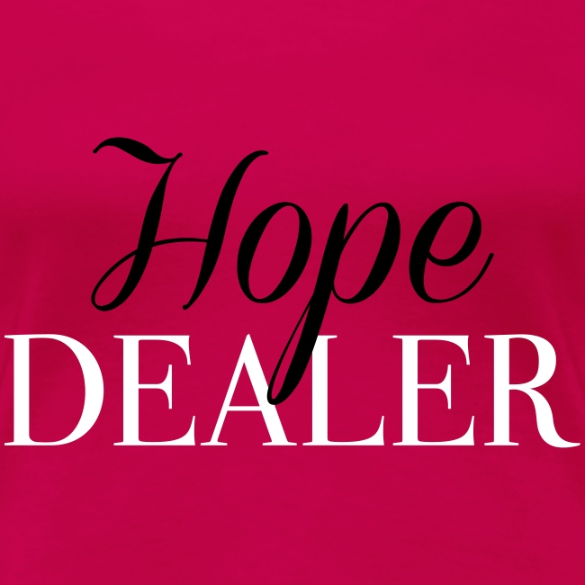 Keller Life Coaching Hope Dealer Womens Premium T Shirt