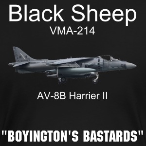 Womens VMA-214 Black sheep shirt - Women's Premium T-Shirt