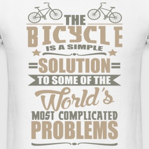 The Bicycle is a Simple Solution to Some of the Wo - Men's T-Shirt