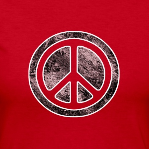 Peace Symbol - Women's Long Sleeve Jersey T-Shirt
