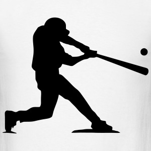 Baseball Hitter T-Shirts - Men's T-Shirt