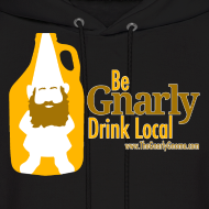 Design ~ Be Gnarly Hoodie