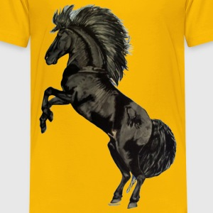 Black Stallion - Toddler Premium T-Shirt