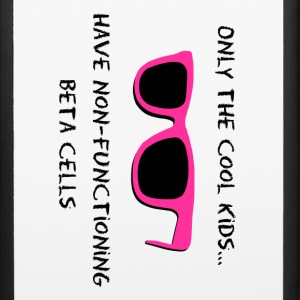 Only the Cool Kids - Pink Black - Type 1 Diabetes Accessories - iPhone 6/6s Rubber Case